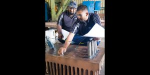 Foundry involved in product development