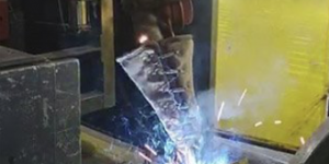 Smelter welding project completed